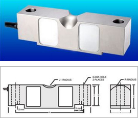 DOUBLE ENDED SHEAR BEAM LOAD CELL - 70310
